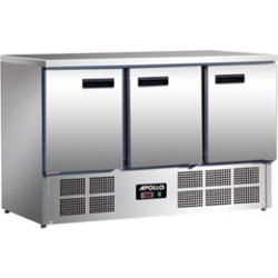 Apollo A3DC 3 Door Refrigerated Counter